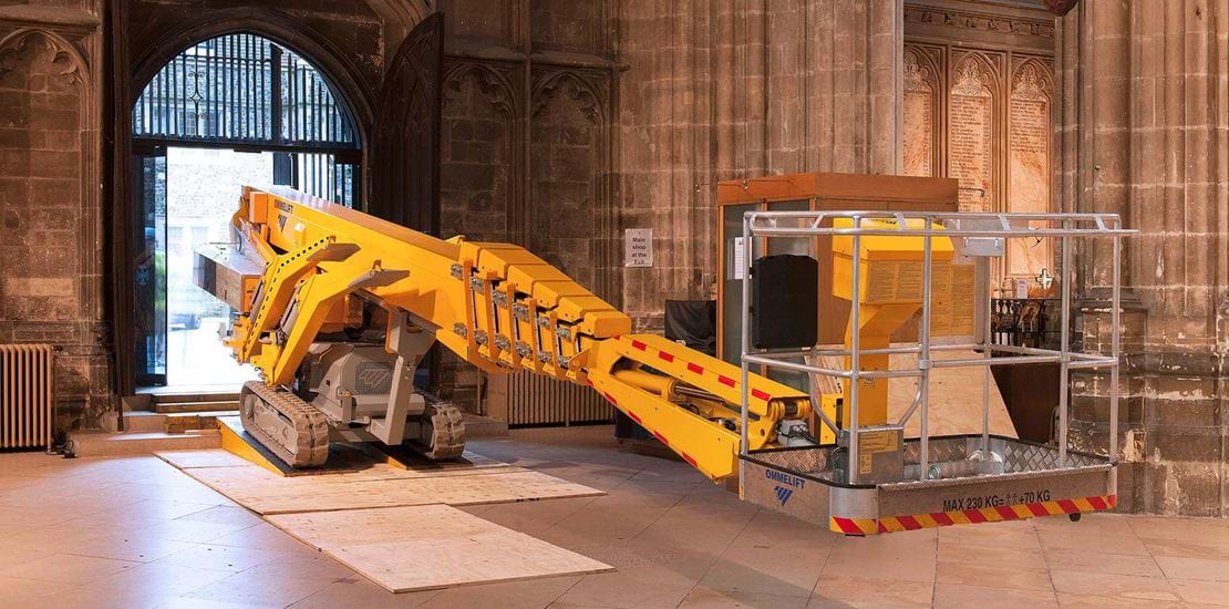 OMMELIFT / Trailer lifts and crawler lifts